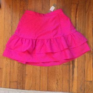 NWT J. Crew Tiered Ruffle Skirt